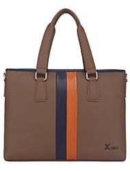 X.BNJ  Men Briefcase High-end Genuine Leather Business Handbag Vintage Top Layer Cowhide Messenger Shoulder Bags