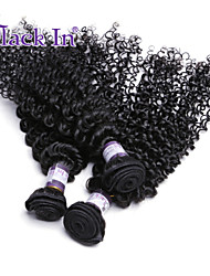 Peruvian Virgin Remy Kinky Curly Human Hair Weave 100% Real Unprocessed 3Pcs Hair Extension