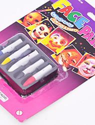 5pcs temporaire corps des stylos de peinture tatouage maquillage Halloween