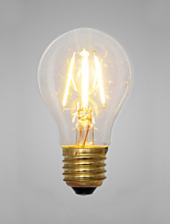 Decorative Incandescent Bulbs , E14 / E26/E27 2 W 2 COB LM Yellow AC 220-240 V