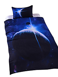 Gorgeous Galaxy Duvet Cover Universe Outer Space Themed Bedding Set