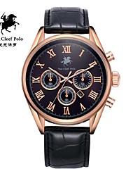 correa de reloj de cuero de la moda de los hombres con VA-nans-15071800102