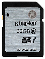 Original Kingston 32GB Class 10 SDHC SD-Speicherkarte UHS-1 30MB / s sd10v / 32gb