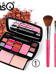 MSQ® 15 Color Eye Shadow Shimmer/Matte/Mineral Eyeshadow Palette Cream Professional Fairy makeup/Party makeup/Smokey makeup Makeup Palettes