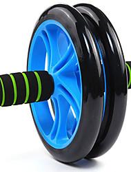 silenciosa rueda abdominal ruedas abs abdominal abdominal redonda fina nos 1 cm de espesor, con antideslizante alfombra de color al azar