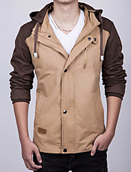 2015 spring new detachable cap Korean jacket men jacket