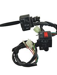 мотоцикл левый и правый бегунок электрический выключатель для SUZUKI DC 12V
