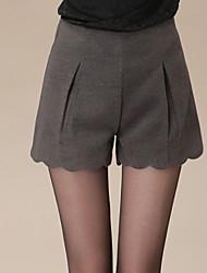 Damen Hose  -  Sexy / Leger Kurze Hose Mikrofaser Mikro-elastisch