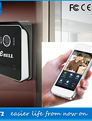 atz ebell® sem fio campainha vídeo porteiro campainha câmera orador wi-fi câmera olho mágico da porta de vídeo