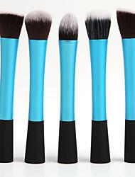 5Pcs Cosmetic Makeup Brushes Set (4 colors)