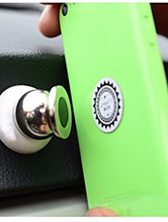 Universal Round Magnetic Mount Cell Phone/ GPS Stand Holder 360 Degrees Rotation for Iphone Samsung Smartphone