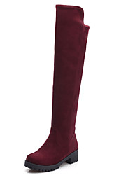 Women's Shoes Low  Heel Round Toe Thigh High Boots More Colors available