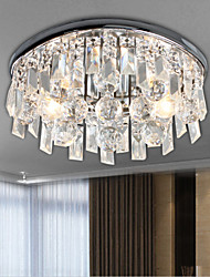 Modern Crystal Ceiling Lights for Living Room luminarias Para Sala Plafon Hallway Ceiling Lamp Fixtures for Bedroom