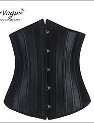 Serre Taille Vêtement de nuit Femme Polyester / Spandex / Modal Noir Aux femmes