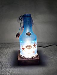 1pc levou originalidade ac de mobiliário de casa a luz da noite garrafa