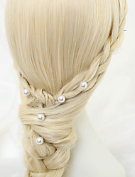 Women's / Flower Girl's Alloy / Imitation Pearl Headpiece-Wedding / Special Occasion Hair Pin 5 Pieces