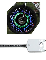 OEM Mode Wheel Lights Battery AAA Waterproof/Impact Resistant/Easy to Carry/Colors changing Cycling White