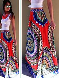 Nikki  Women's Print  Dresses , Casual / Party Mid Rise Sleeveless