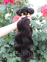 non transformés 6a eurasienne vague de corps de cheveux vierge de cheveux humains tissage vague de corps eurasienne vendre le lot