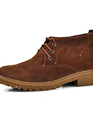 Winter Men's Shoes Casual Suede Fashion Boots Black / Blue / Brown / Green / Khaki
