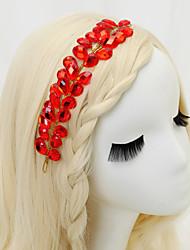 Women's / Flower Girl's Rhinestone / Alloy Headpiece-Wedding / Special Occasion Headbands 1 Piece