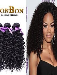 "8 ""-30"" la venta caliente brasileño virginal rizado rizado cabello humano 4 paquetes barato"
