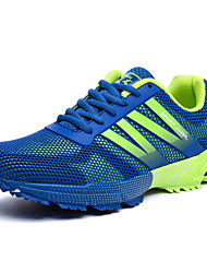 New Men's Running Shoes Synthetic Sports Shoes Brand Fashion Men Shoes / Tulle Black / Blue / Gray