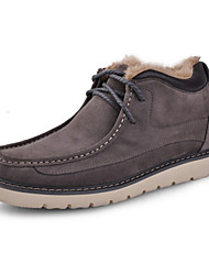 Winter Men's Shoes Casual Suede Fashion Boots Blue / Brown / Gray / Khaki