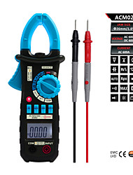 Bside ACM02 Auto Range 4000 Counts 600A Digital AC Current Clamp Meter with Temperature and Capacitance Measurement