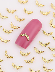 200PCS Lovely Nail Art Nail Jewelry Nail Decorations Gold Toe Finger Alloy for Aryclic Nail Tips Wedding Decorations