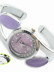 Personalized Gift Women's Analog Watch with Metal Band