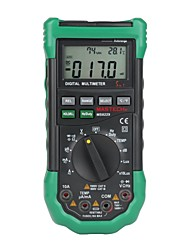 Mastech MS8229  Automatic Digital Multimeter - Temperature Humidity Level - Illumination Frequency Duty Ratio