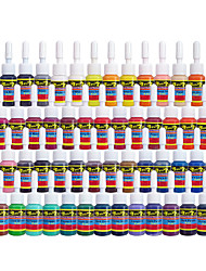 Solong Tattoo Inks 54 Colors Set 5ml/Bottle Tattoo Pigment Kit