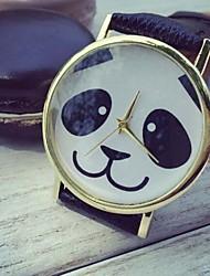 Fashion Women Watches Cartoon Panda Quartz Watches Cool Watches Unique Watches