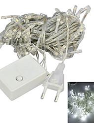 JIAWEN® 10 M 100 LED Diode Weiß Verbindbar 4 W Leuchtgirlanden AC220 V