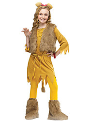 Halloween / Carnival Kid Animal Costumes Costumes Coat / Dress / Pants / Belt / Headwear