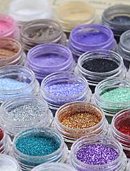 Sequins Glitter Tattoo Super Bright Flash Fine Powder(1 pc)(8 colors)