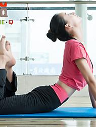 Outros Mulheres Ioga Ternos Manga Curta Respirável / Materiais Leves Verde / Vermelho Ioga / Fitness M / L / XL