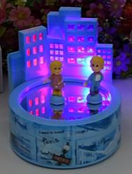 Flash Music Jewelry Box Boys And Girls Dancing Music Box Valentine's Day Gift