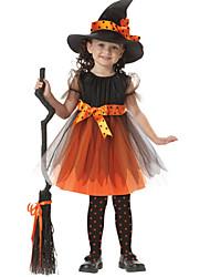 Costumes - Sorcier - Enfant - Halloween - Robe / Chapeau