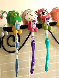 1PCS  Cartoon Chuck Toothbrush Rack Sucker