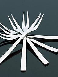 aço inoxidável de moda criativa fruta garfo