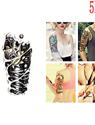 (5PCS) 2015 Latest Version High Quality Creative Fashion Waterproof One-Time Tattoo Stickers ——TOP Product
