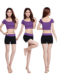 Running Clothing Sets/Suits Women's Short Sleeve Breathable / Lightweight Materials Modal Yoga / Fitness Sports Sports Wear Stretchy