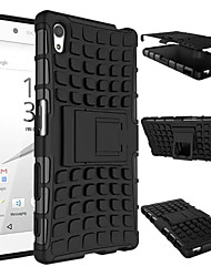 Heavy Armor devoir dur cas de couverture pour 2015 Sony Xperia Z5 E6603 e6633 e6653 e6683 silicone peau de protection couleur double