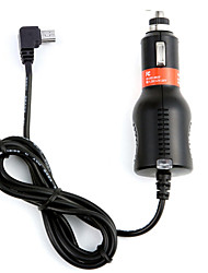 DearRoad Car Charger Mini USB 2A Input DC8V-36V with 3.5M for Navigation GPS Car Vehicle Recorder DVR Camera