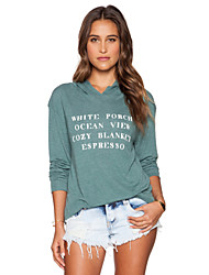 Women's Fashion Casual Party Work Plus Size Hoodied Long Sleeve T-shirt