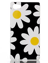 Pour Coque Sony Motif Coque Coque Arrière Coque Fleur Flexible PUT pour Sony Sony Xperia Z5 Compact