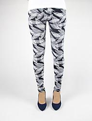 Women Print Legging Medium Fashion Love Fitness Pattern Sports leggings