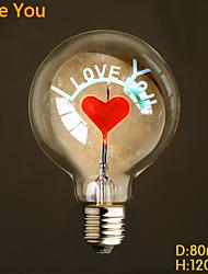 e27 conduit non fleur bulle brûlant source de lumière décorative fleur de la personnalité de l'amour de la balle